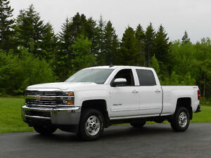 2015 Chevrolet Silverado 2500 Duramax Blk leather Interior
