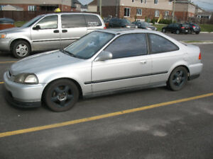 Modified 1996 Honda Civic Si Coupe (2 door) for sale
