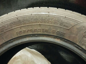 3x P185/65R15 Touring ,(1x Maximus)summer tires Ad on Kijiji