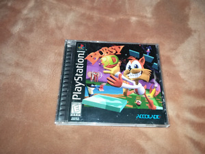 for sale bubsy Sony ps1.