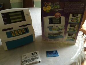 Kids Electronic ATM bank.(Fun 2Save by Blue Hat toy company)