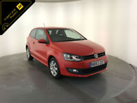 2014 VOLKSWAGEN POLO MATCH EDITION AUTO 1 OWNER VW SERVICE HISTORY FINANCE PX