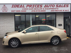 2012 Toyota Camry LE,NAVIGATION,REMOTE START,CERTIFIED.