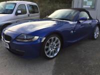 BMW Z4 2.0i 2006MY Sport Roadster only 49,000 miles FSH