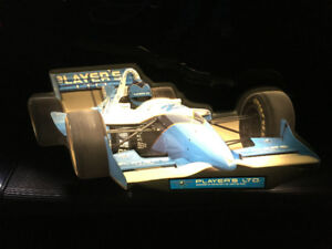Vintage Lighted Indy Car Promo Players Sign Tracy & Moore Era