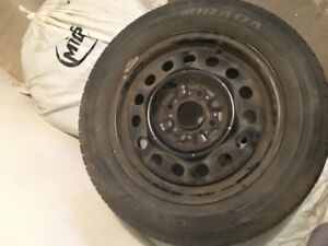 Winter tire set , Rims Included, Good Condition, 23 inches