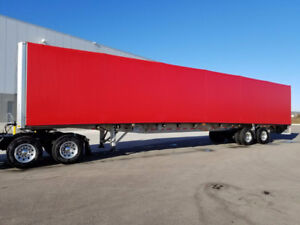 2017 Flatbed roll tight trailer