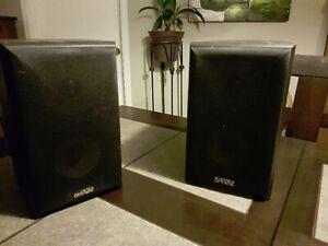 bookshelf speaker stereo omage av21