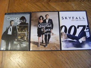 james bond dvds
