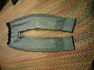 Grey gym leggings size m