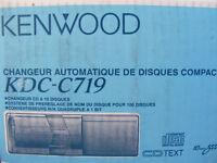 Genuine Kenwood 10 Disc CD Changer KDC-C719