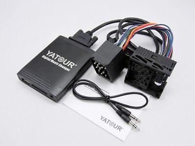 Yatour Car Music Audio Interface For BMW 17-pin Round Headunit  USB SD AUX MP3