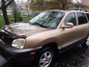2003 Hyundai Santa Fe Gls Suv Crossover