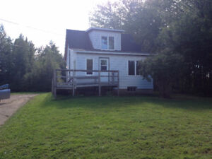 Recently renovated 2 Bedroom Home on 2 Acres for Rent