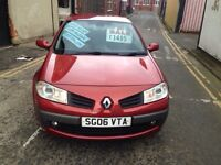 2006 RENAULT MEGAN ONLY 47000 MILES FULL SERVICE HISTORY £1495!!