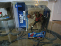 NBA Mcfarlane Dwayne Wade Variant Toy Action Figure Man Cave NHL