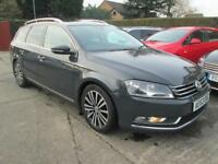 2013 VW Passat Estate 1.6 Tdi Sport Bluemotion, Grey