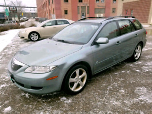 2005  mazda6 station wagon