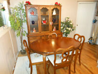 "8 Piece ""Gibbard"" Dining Set"