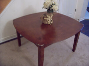 Elegant LARGE Solid Wood Coffee Table I DELIVER