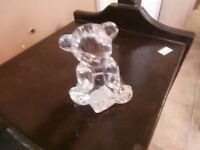Signed Waterford Crystal Bear Figure at KeepSakes at the Market