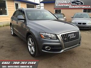 2012 Audi Q5 S LINE TECK PACKAGE LOADED!!  - one owner - local -