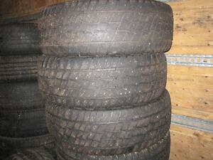 4 COOPER DISCOVER TIRES FOR SALE!!