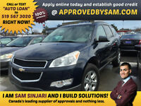 Chevrolet Traverse - Trades Currently Financed Accepted.