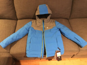 Spider Youth Ski Jacket NWTs Size 14