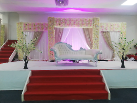 Wedding&mendhi stage hire from £250