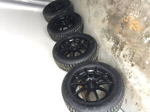Brand New Winter Tires 205/60R16 with used rims.