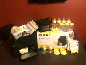 Medela Double Electric Breast Pump - Like New