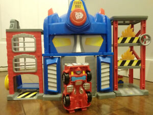 Transformers Rescue Bots Rescue Station