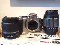Canon EOS 300d digital camera
