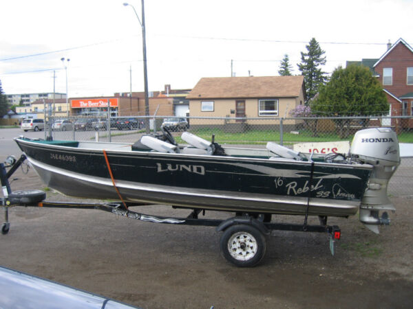 Used 2001 Lund Boat Co Rebel Adventure 16'
