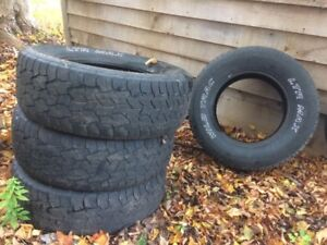 265R70/17 truck tires