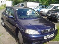 Vauxhall/Opel Astra 1.6i 16v ( a/c ) 2001MY SXi