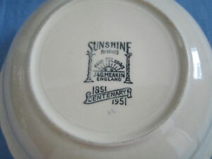 "J & G Meakin ""SUNSHINE"" China For Sale"