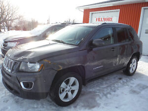 2016 Jeep Compass 4x4 High Altitude