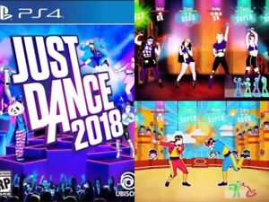 PS4 Just Dance 2018 *Doesn't require Camera*