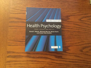 Health Psychology: Theory, Research, and Practice (3rd edition) Kitchener / Waterloo Kitchener Area image 1