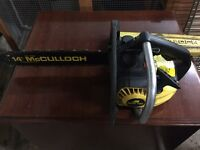 McCulloch MAC130 chainsaw