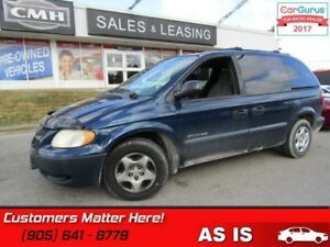 2001 Dodge Grand Caravan SE  POWER GROUP (AS IS - UNCERTIFIED AS