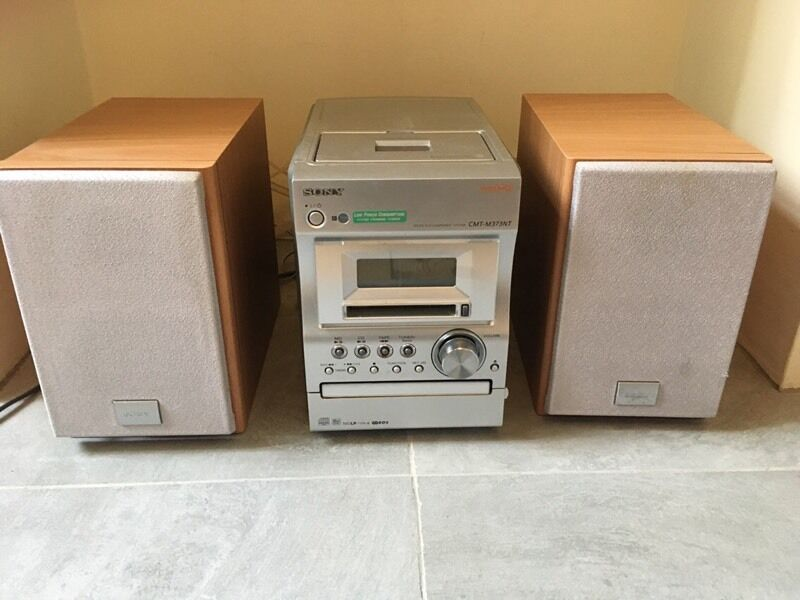 sony cd mini disc and tape player with radio in norwich. Black Bedroom Furniture Sets. Home Design Ideas