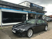 BMW 630I 3.0 auto 2006MY EXCLUSIVE SPORT EDITION