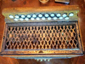 Awesome Antique Accordion. Still Plays! Make me an offer!