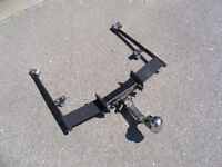 Motorcycle trailer hitch
