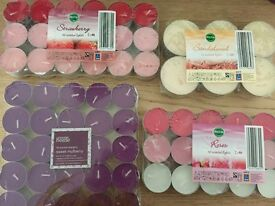 Job lot of 134 scented tea lights