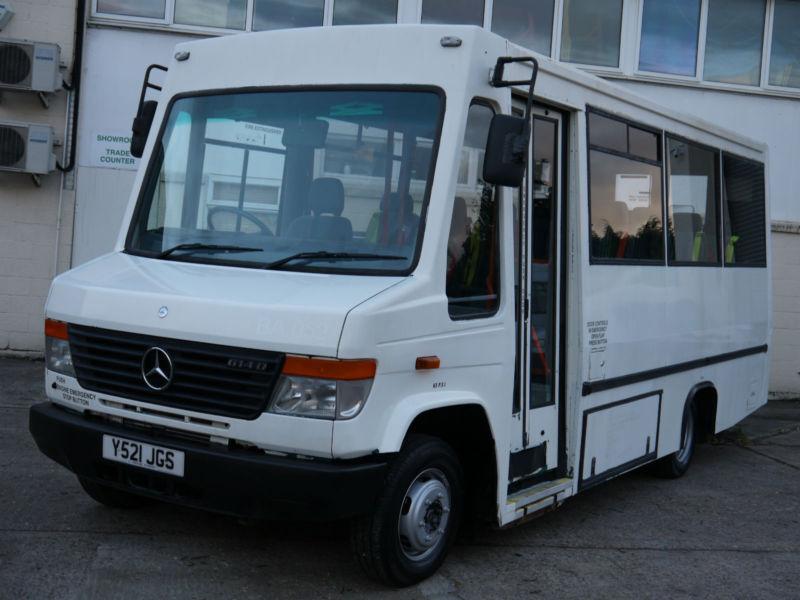 Mercedes 614 vario disabled psv access welfare minibus for Mercedes benz minibus rental