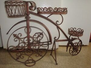 Metal Garden Bicycle Planter